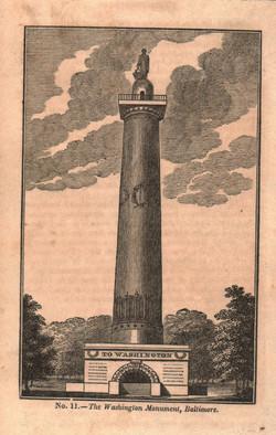 The Washington Monument, Baltimore