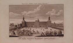 The Royal Palace at Madrid