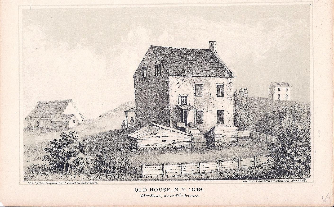 Old House NY 1849