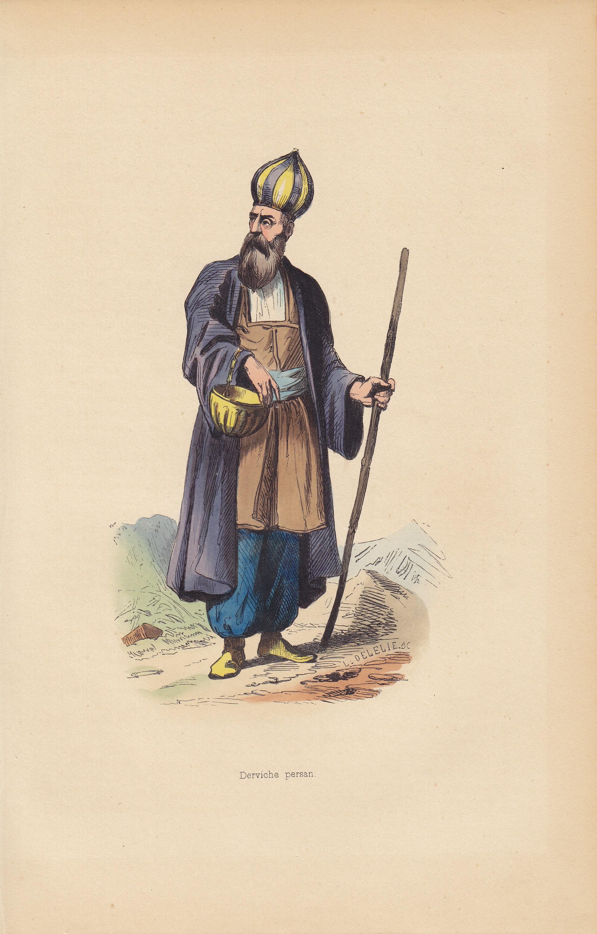 Derviche Persan