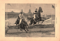 A Steeple-Chase at Monmouth Park