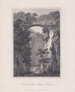 Natural Rock Bridge in Virginia