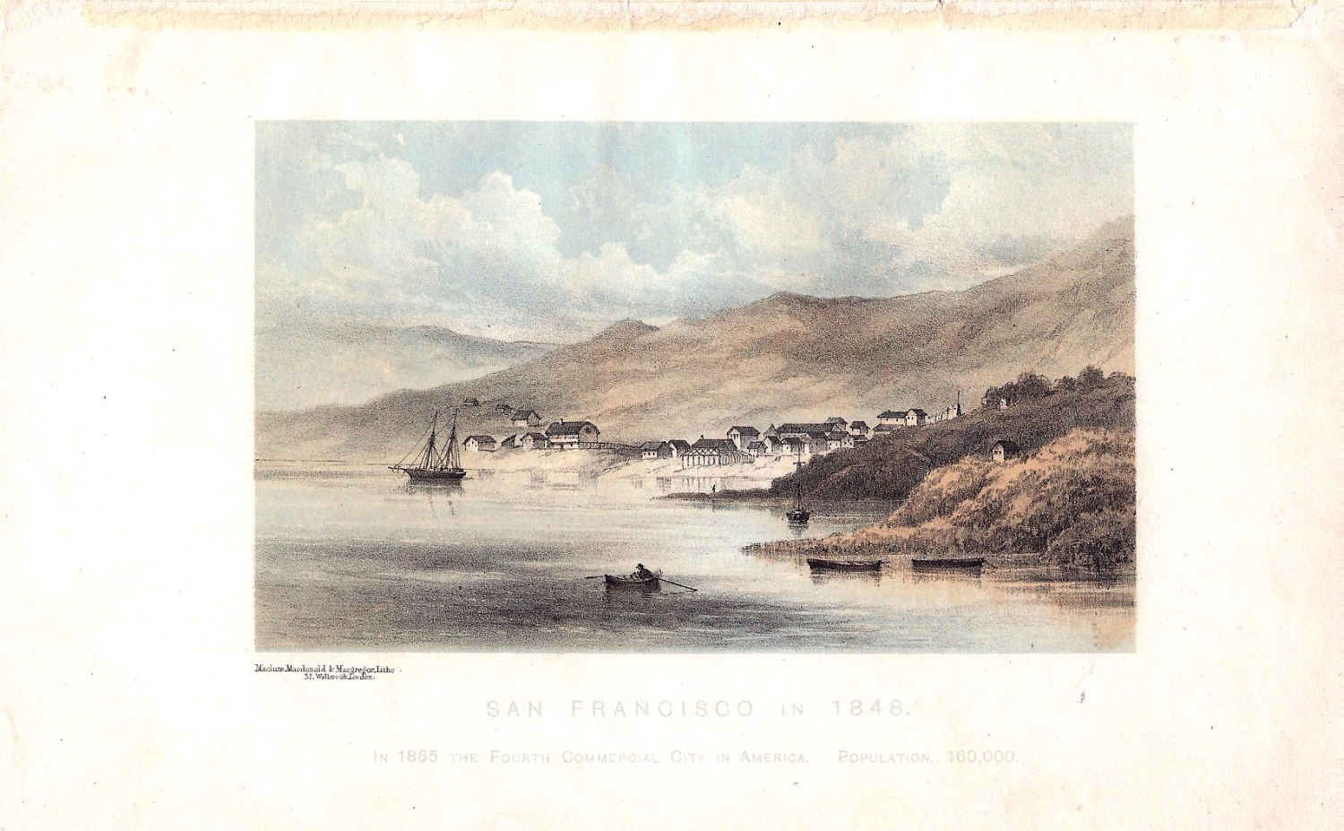 San Francisco in 1848