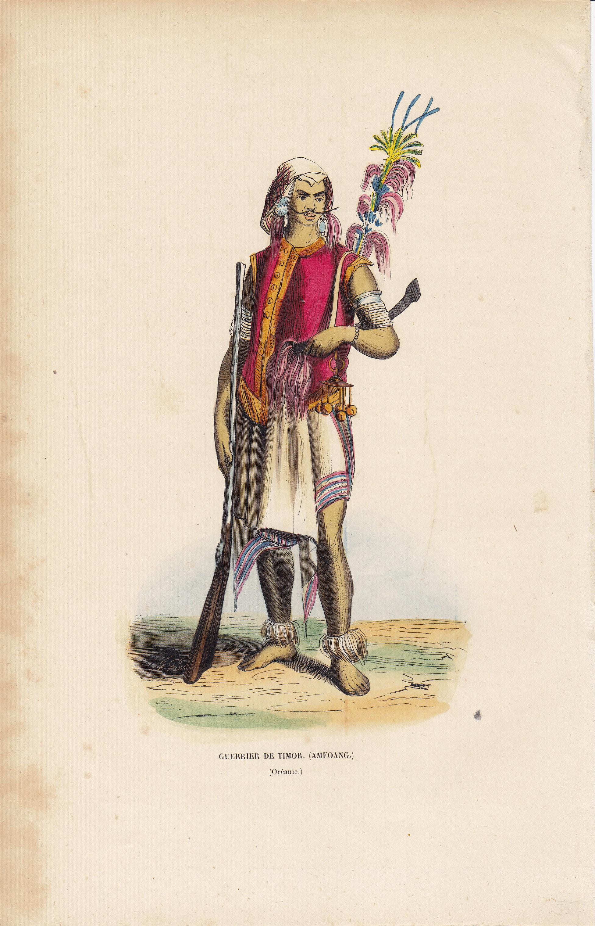 Guerrier de Timor