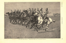 The Canadian Mounted Police on a ''Musical Ride''