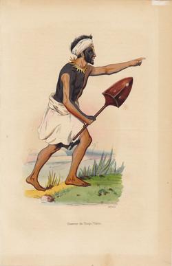 Guerrier de Tonga Tabou