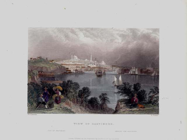View of Baltimore