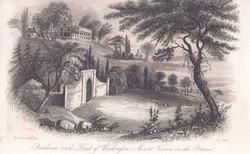 Residence and Tomb of Washington, mount Vernon on the Potomac