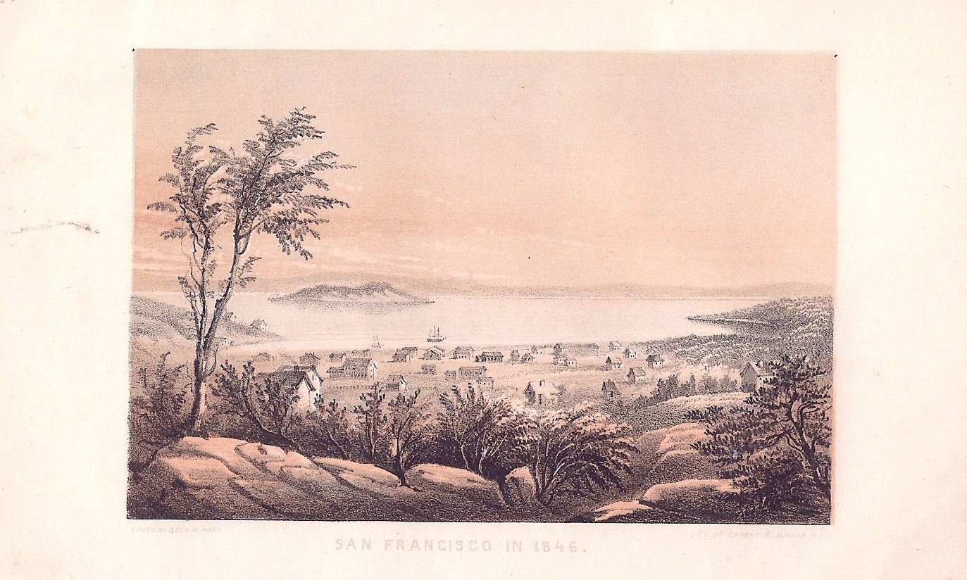 San Francisco in 1846