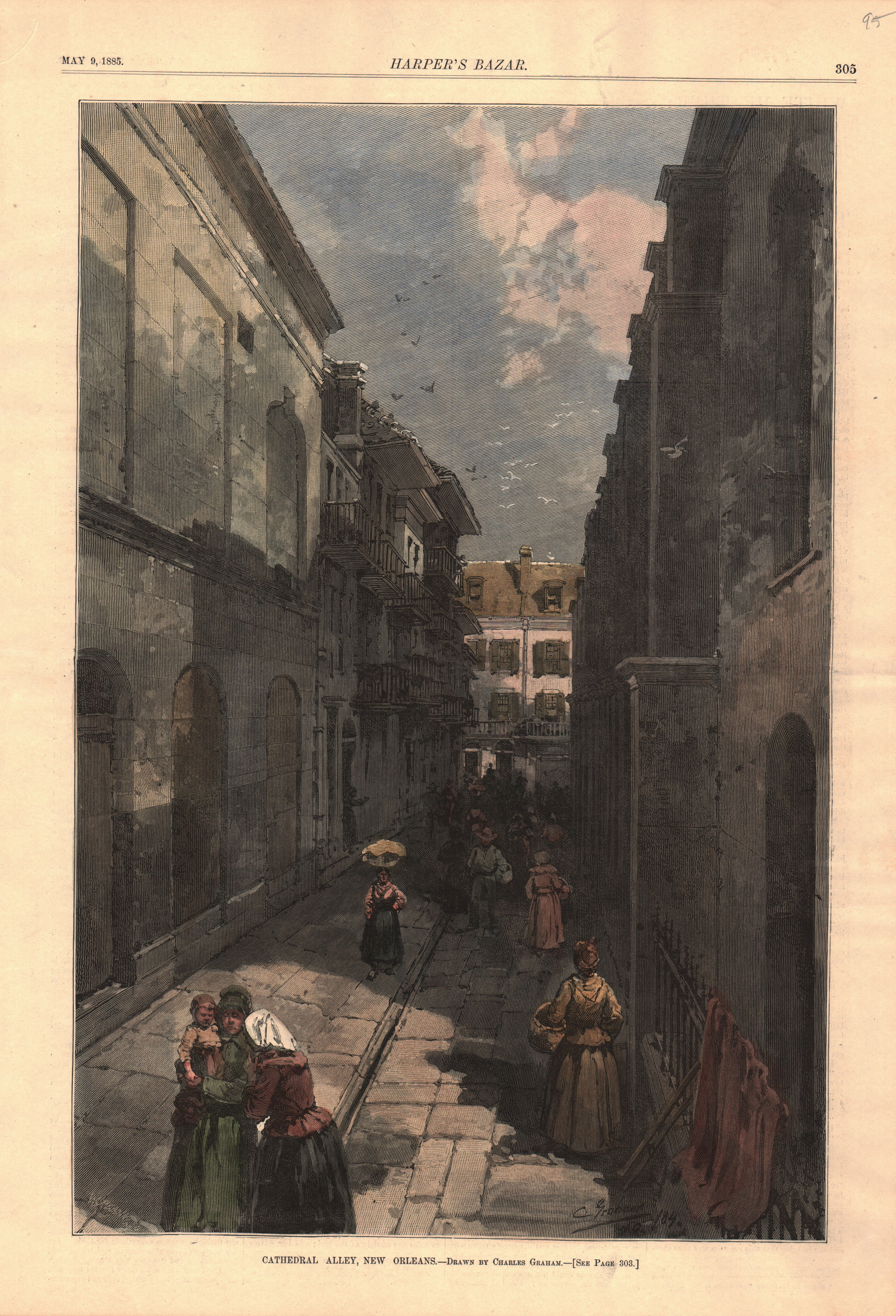 Cathedral Alley, New Orleans