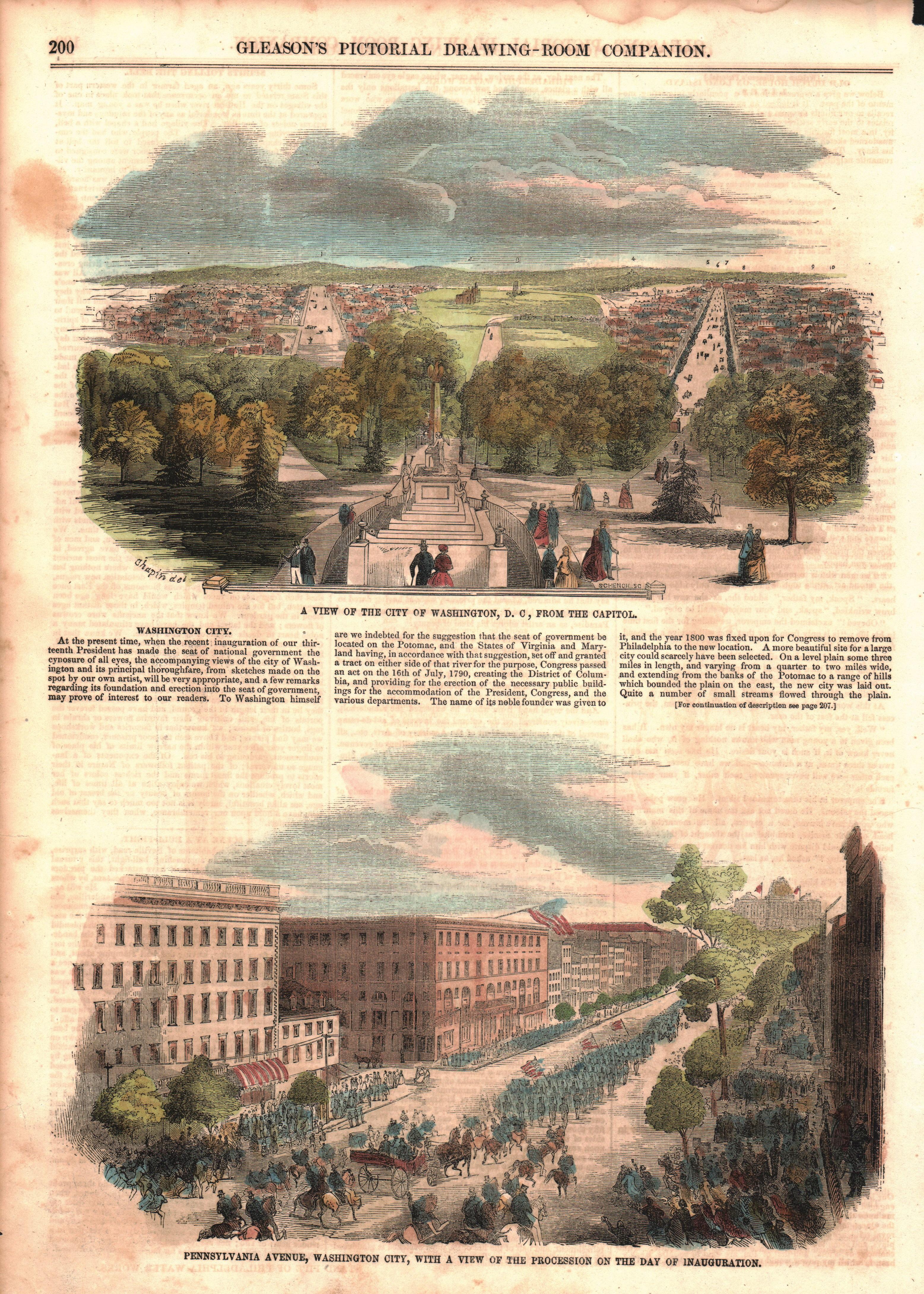 Washington, DC and Pennsylvania Avenue