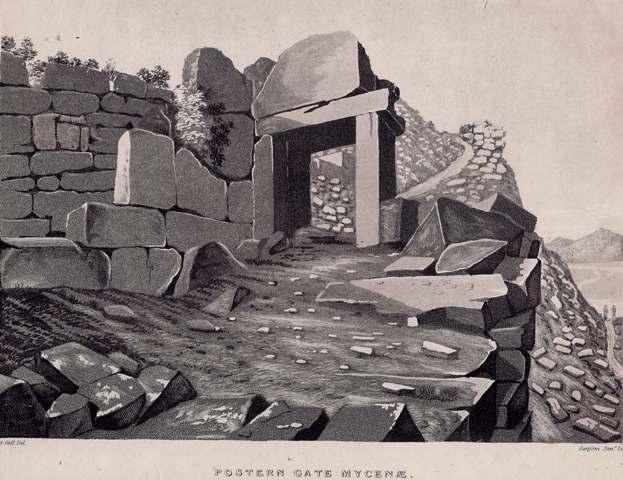 Postern Gate Mycenae