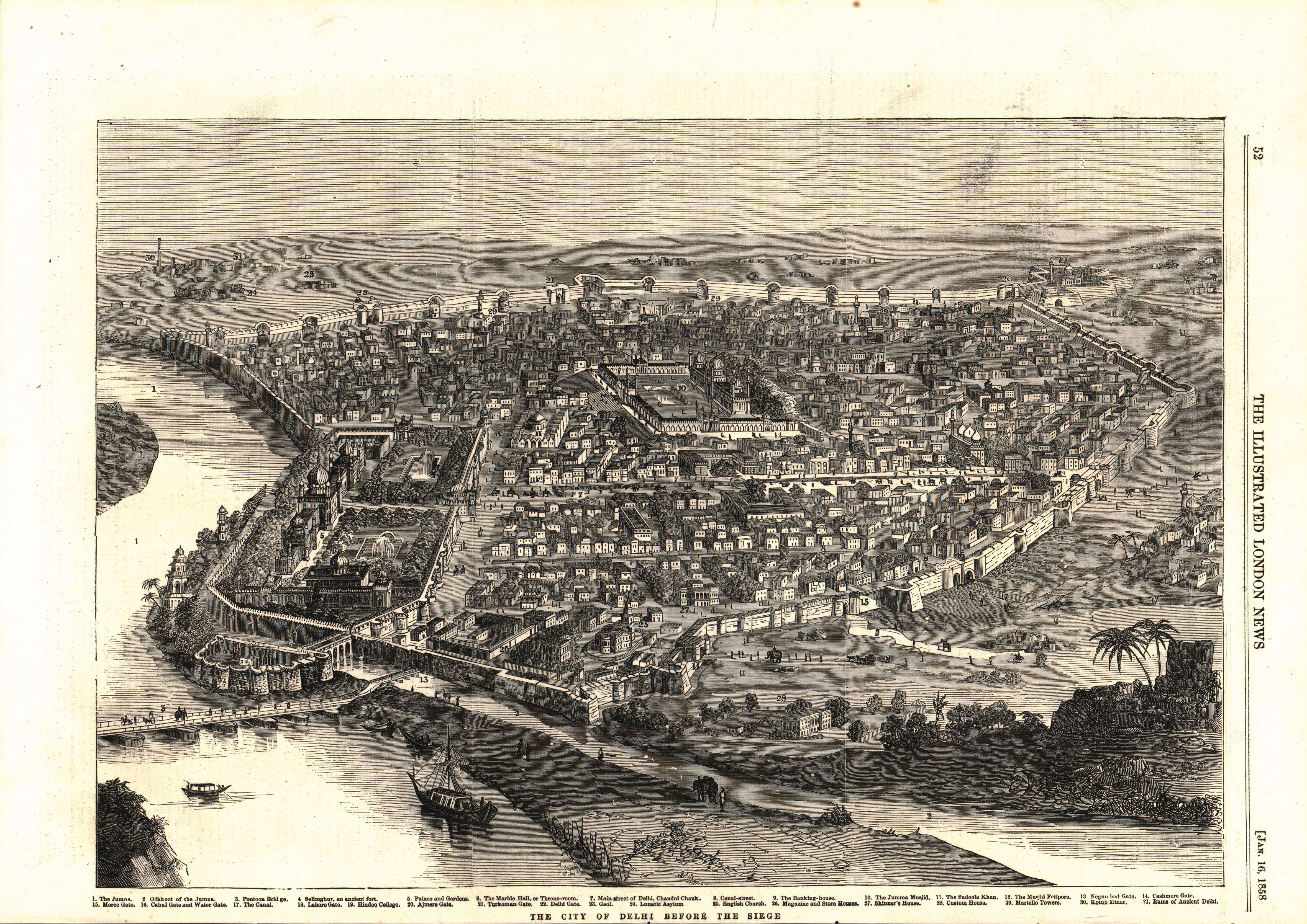 The City of Delhi before the Siege