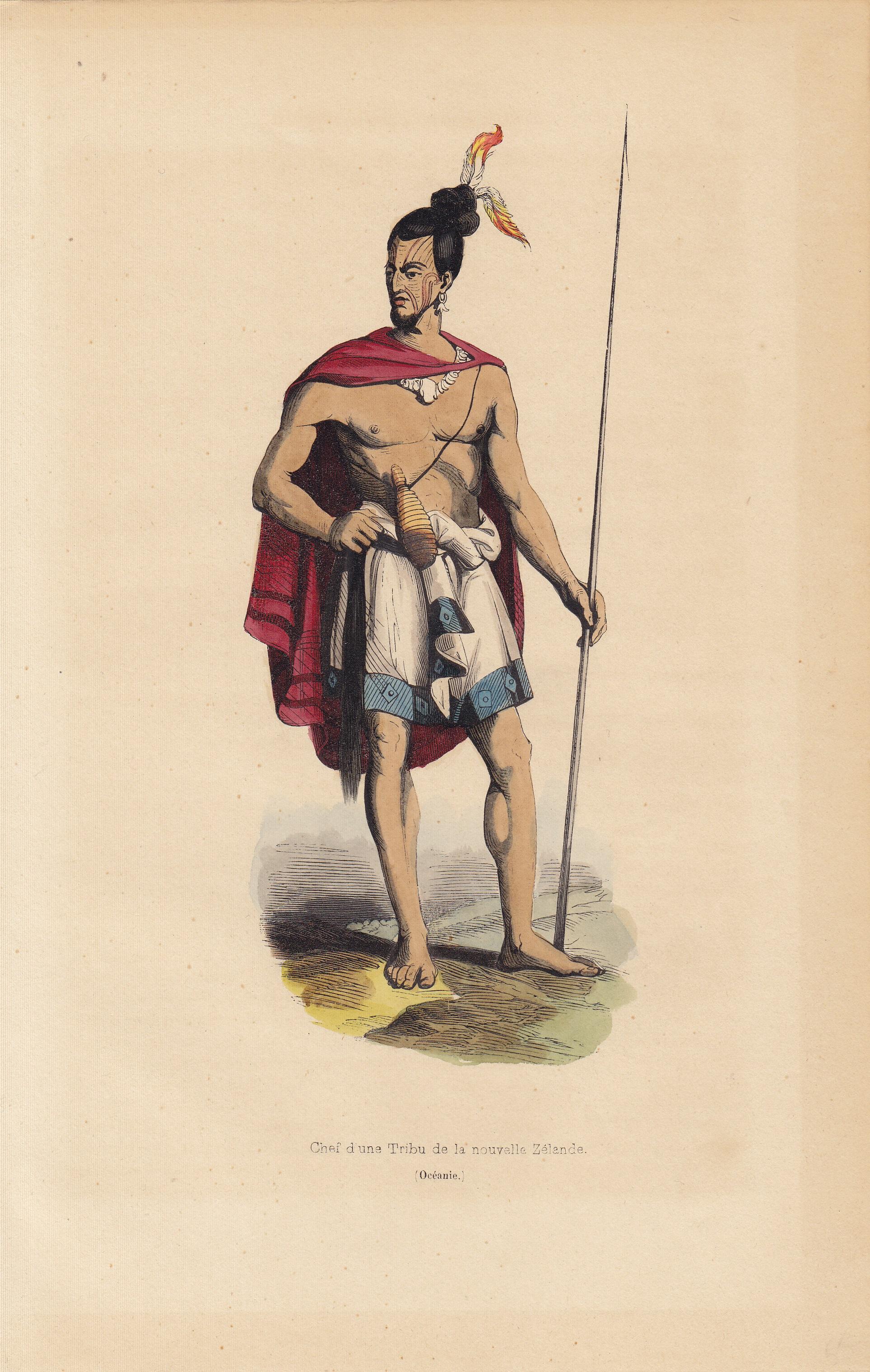 Chef d une Tribi de la nouvelle Zelande