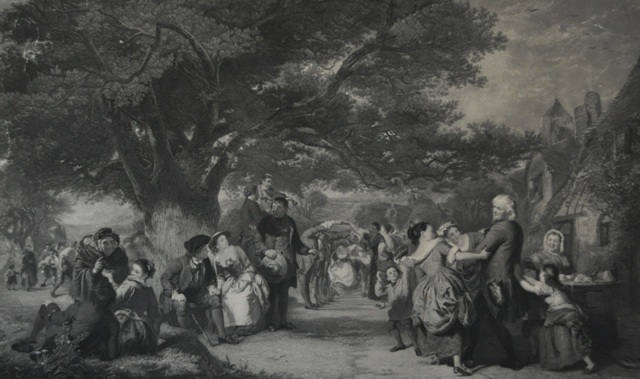 An English Merry Making in the Olden Time