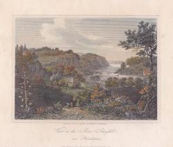 View on the River Schuylkill near Philadelphia