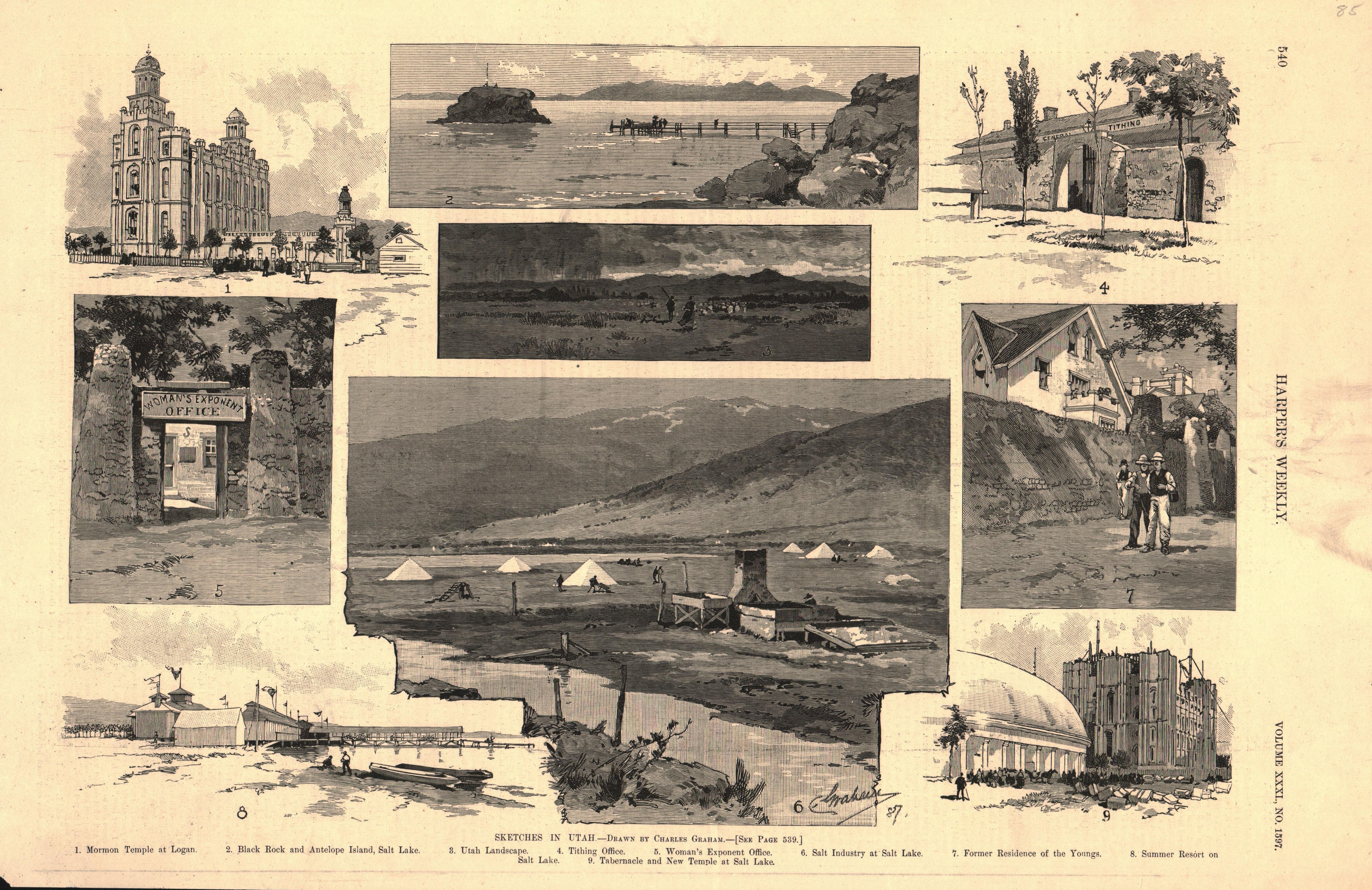 Sketches in Utah