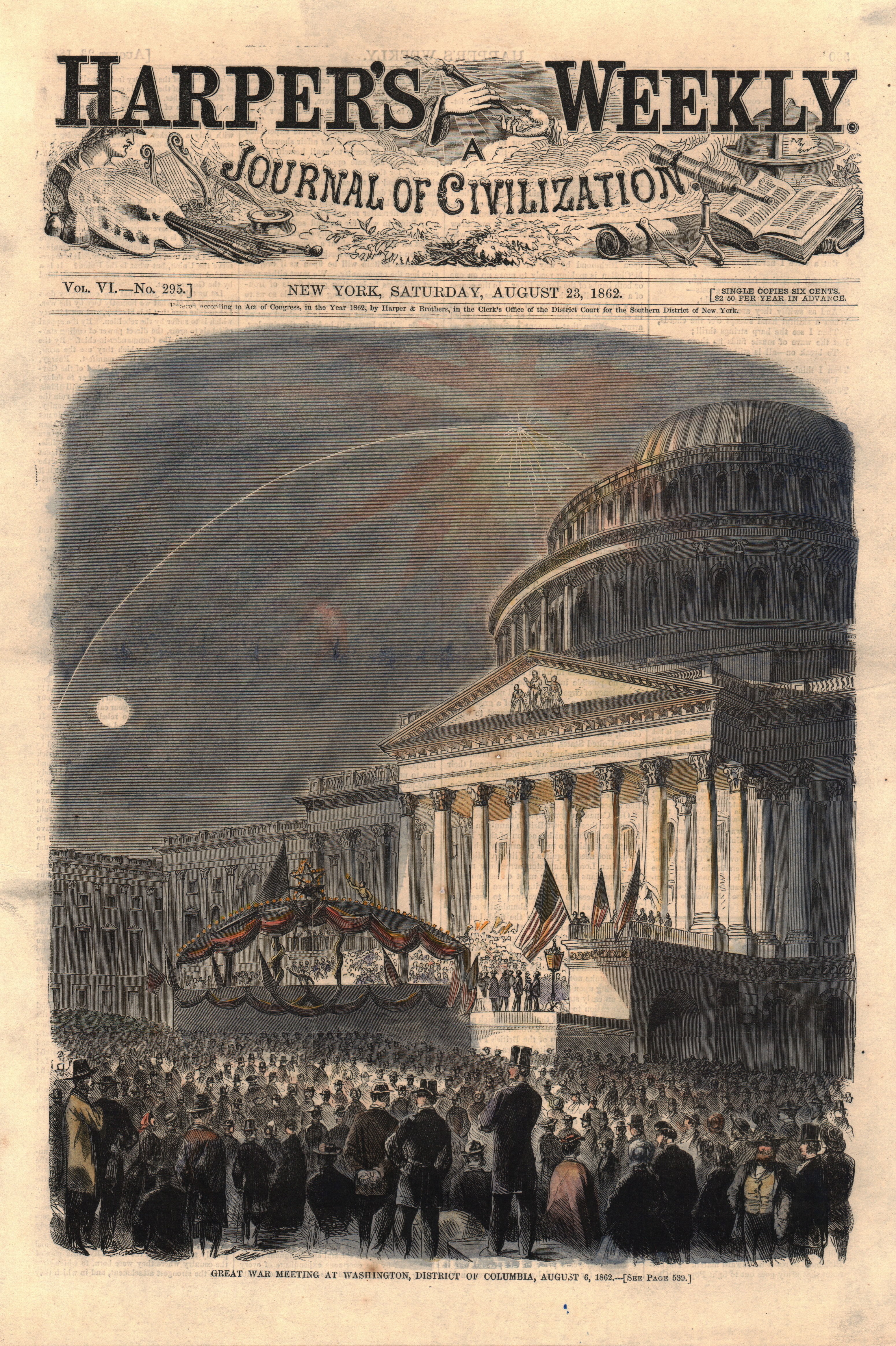 Great War Meeting at Washington