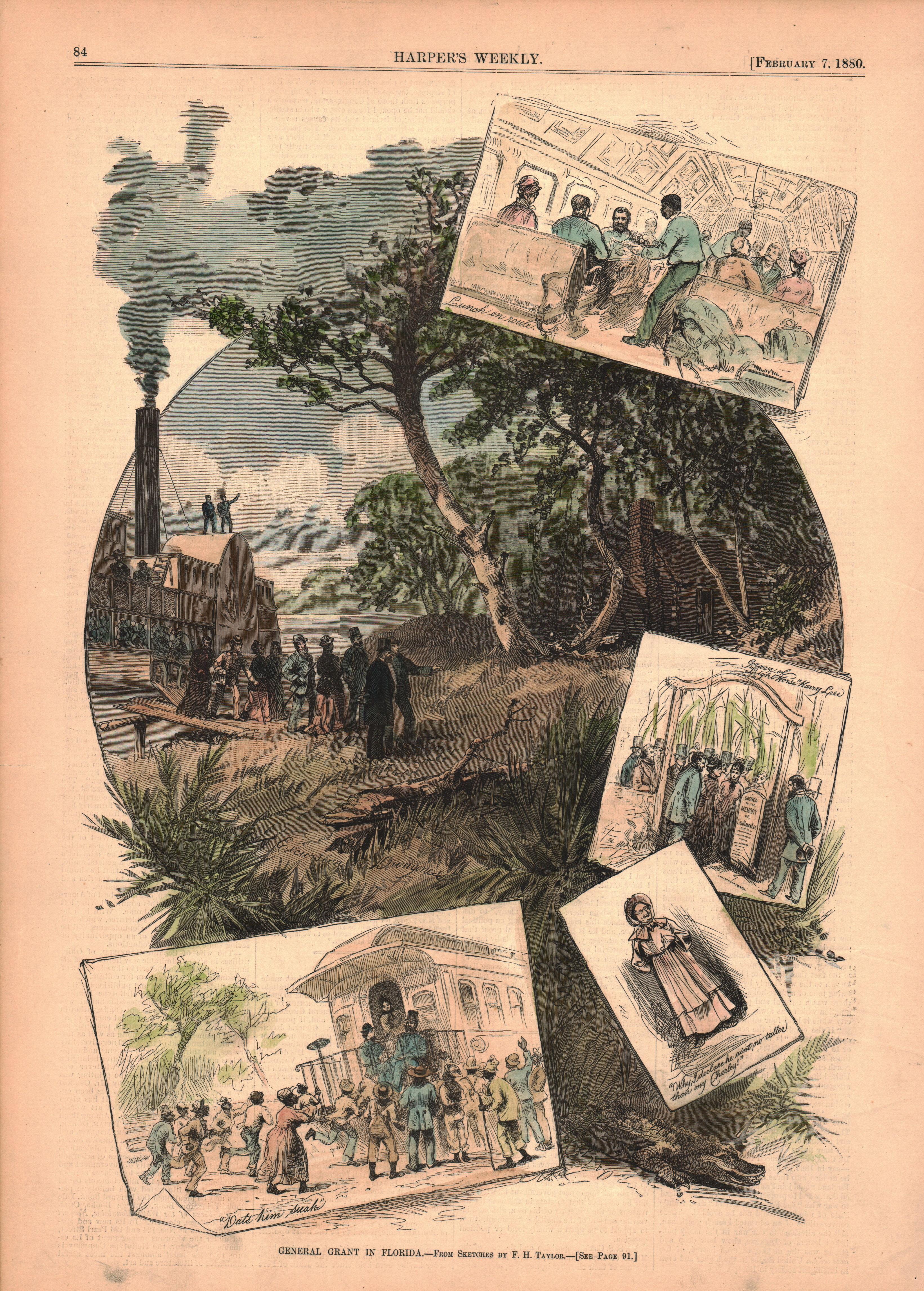General Grant in Florida