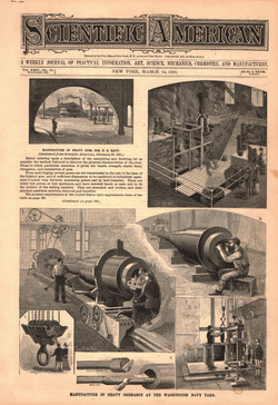 Manufacture of Heavy Ordnance at the Washington Navy Yard
