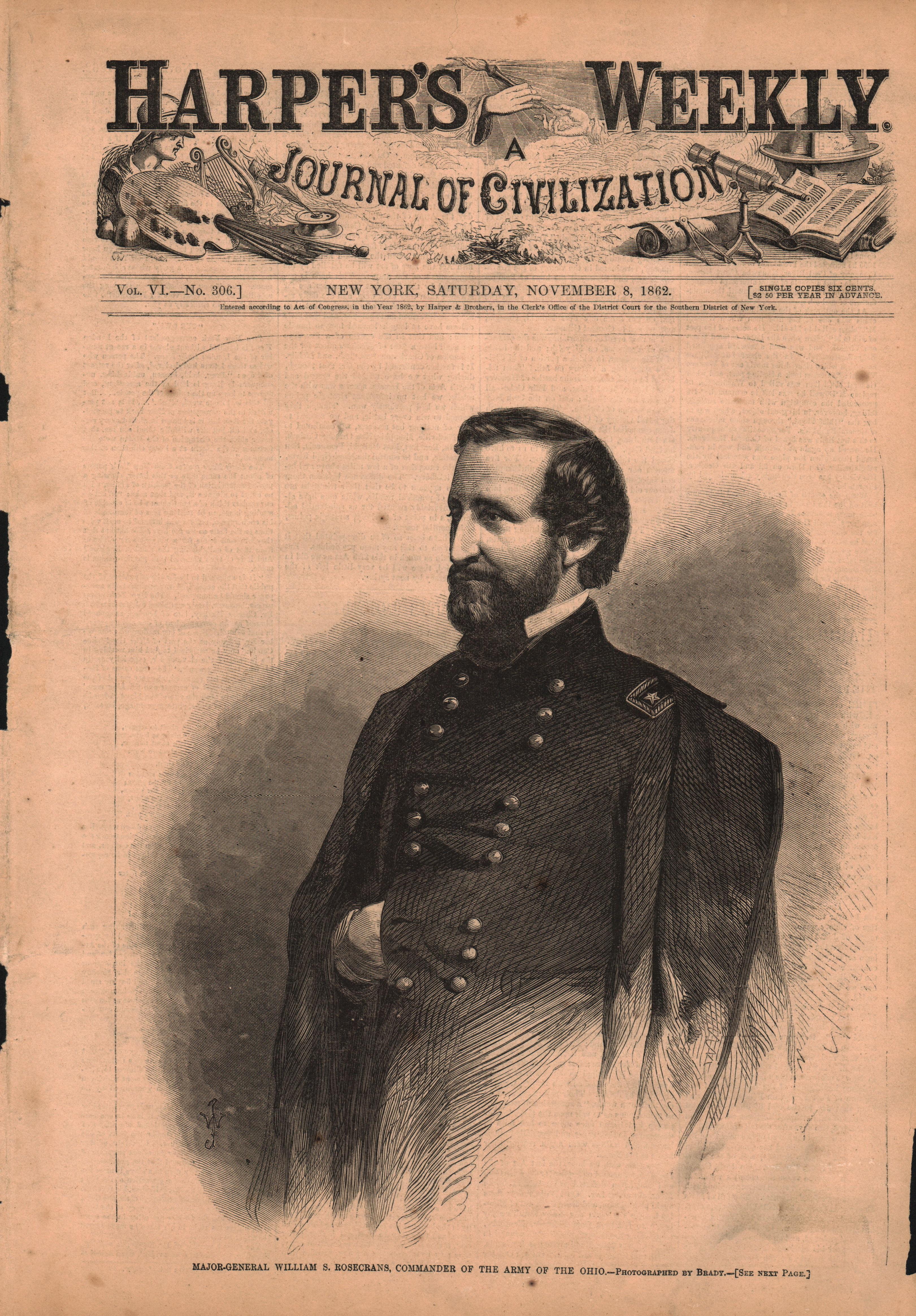 Major Ganeral William S. Rosecrans