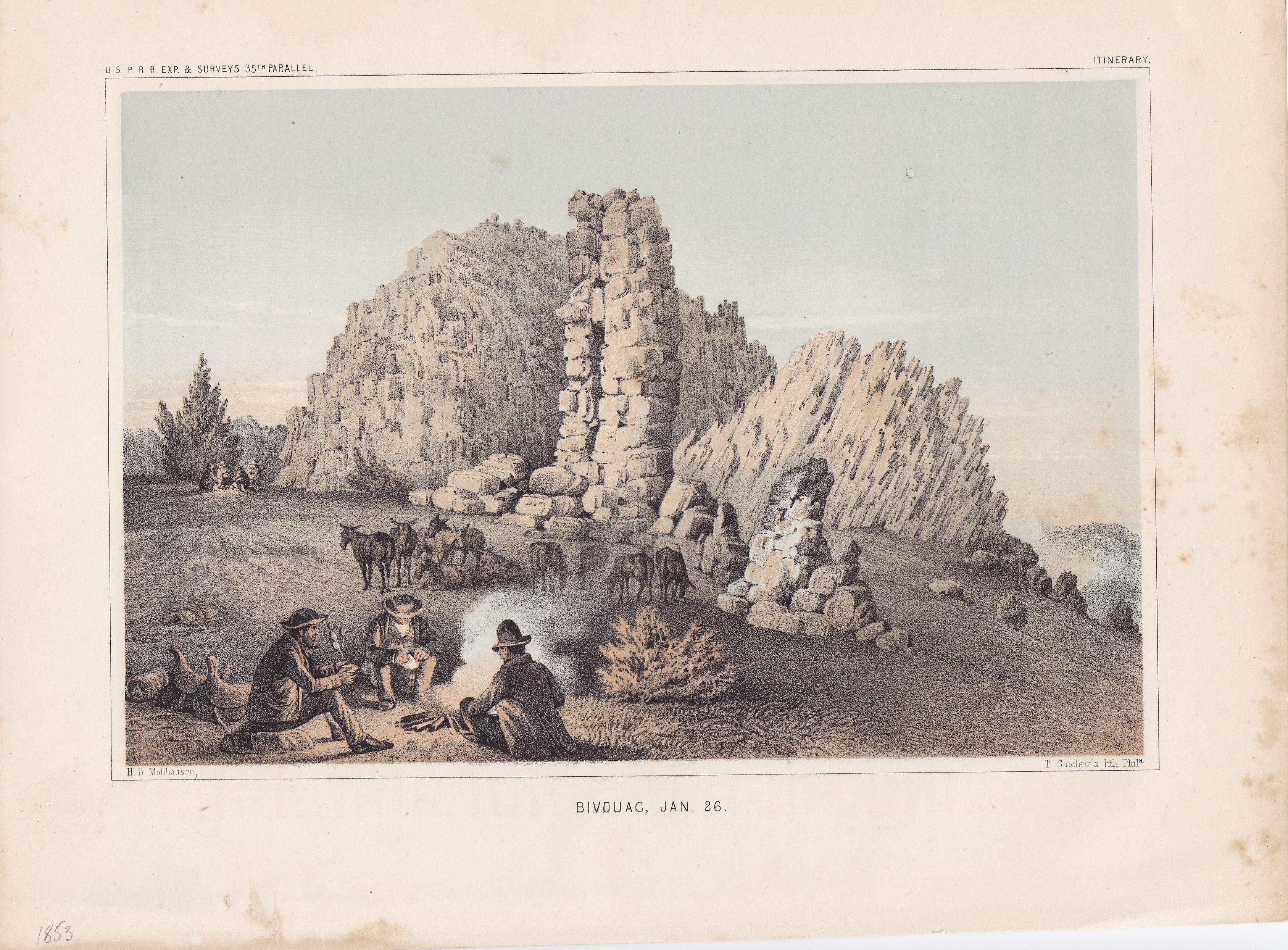 Bivouac, Jan. 26