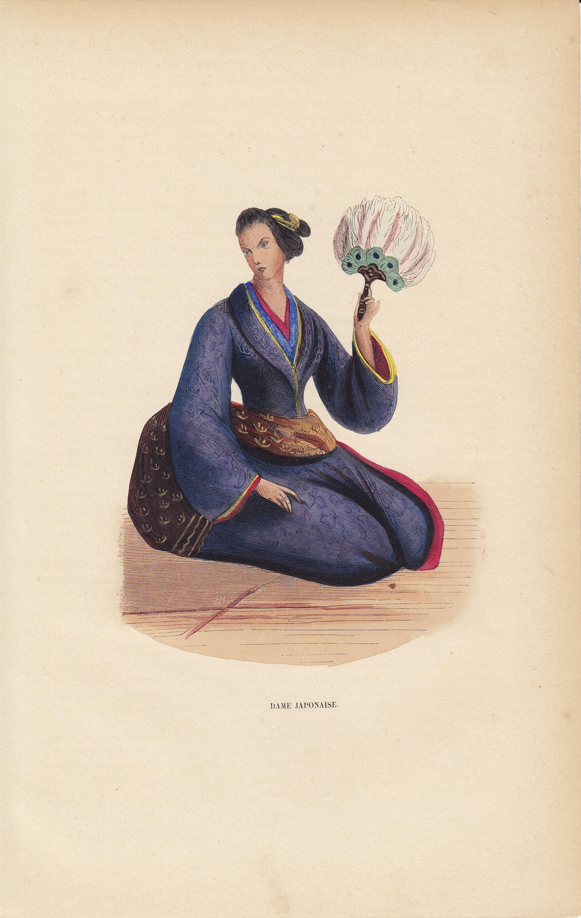 Dame Japonaise