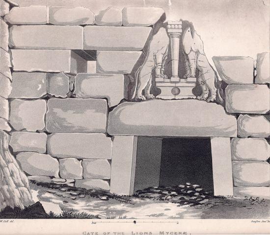 Gate of the Lion Mycenae