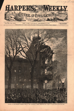 Burning of the Brooklyn Theatre