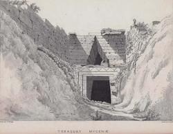 Entrance to the Treasury Mycenae