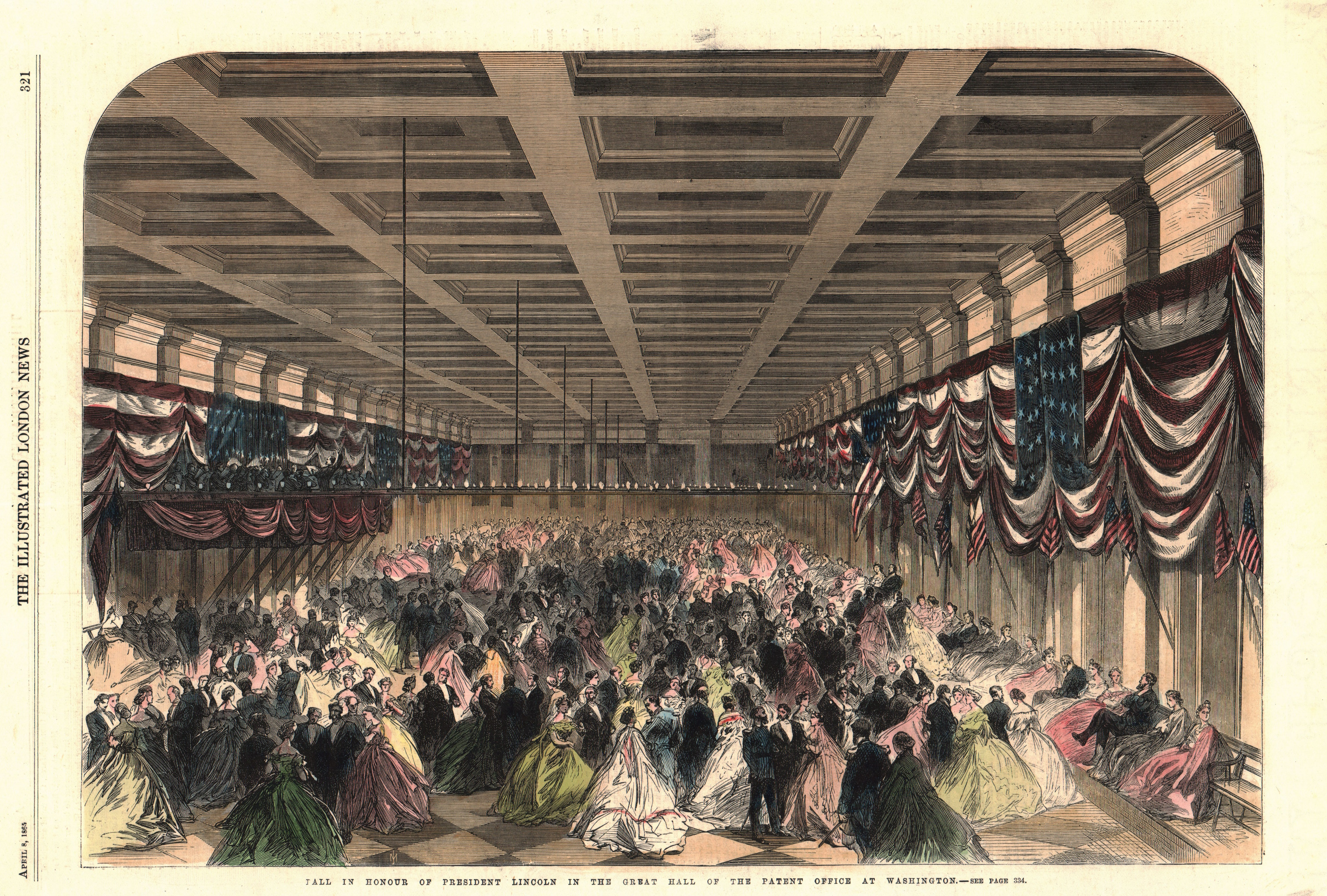 Ball in Honor of President Lincoln