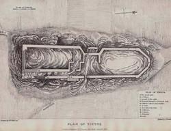 Plan of Tiryns