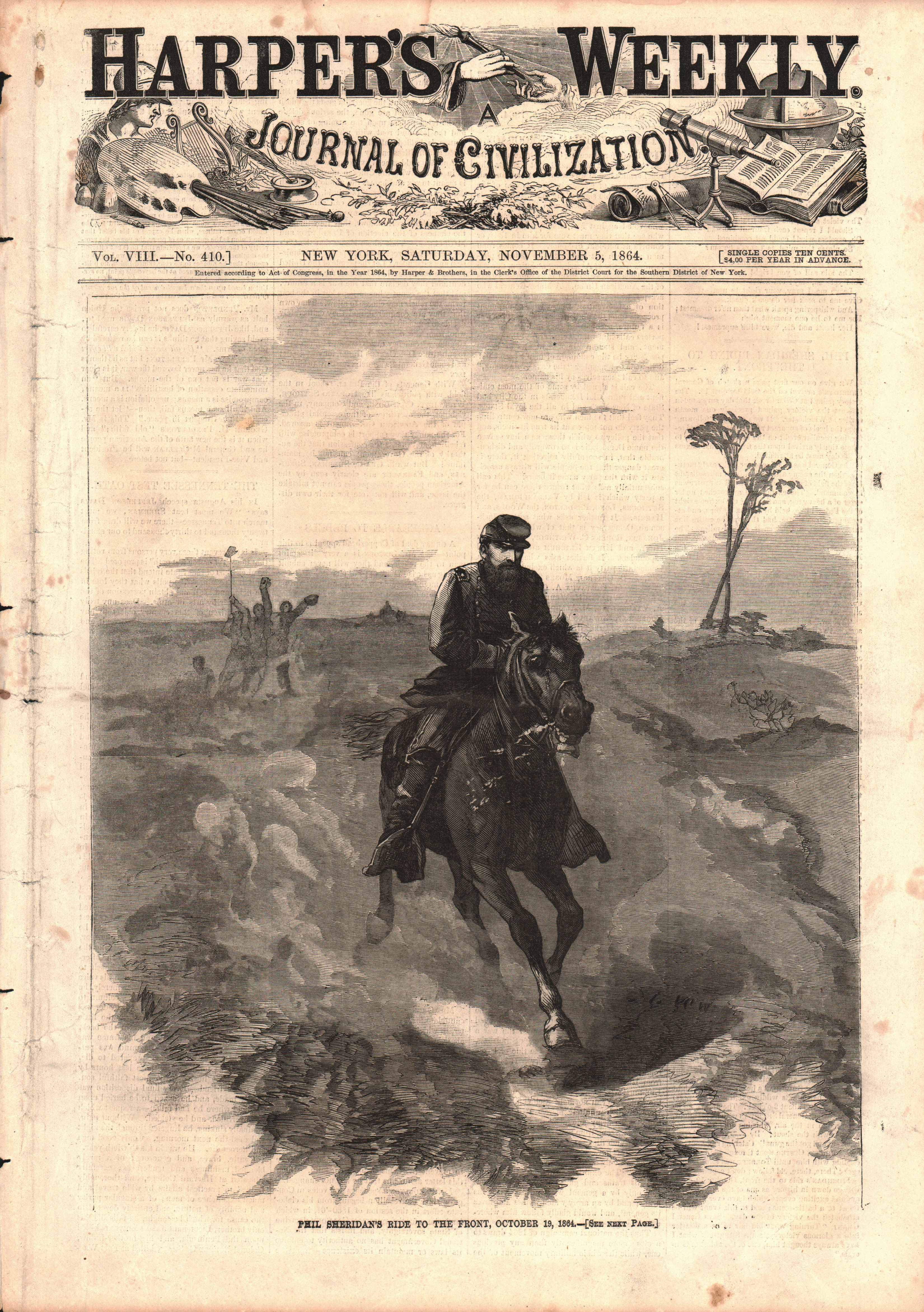 Phil Sheridan's Ride to the Front