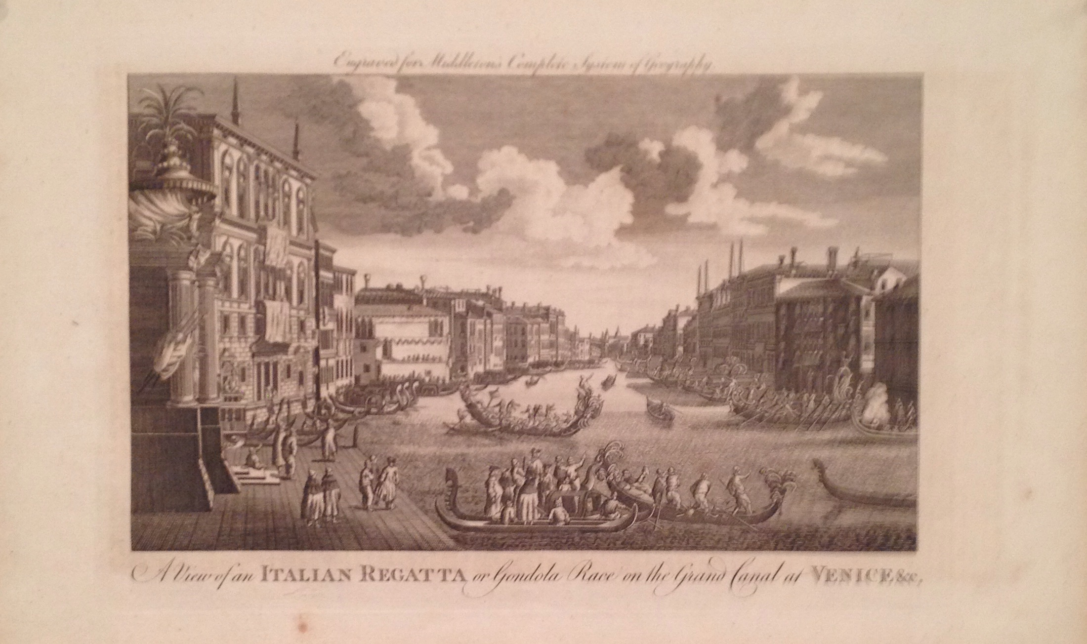A View of an Italian Regatta