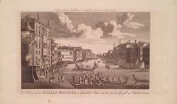 A View of an Italian Regatta