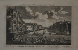 Gondola Race on the Grand Canal