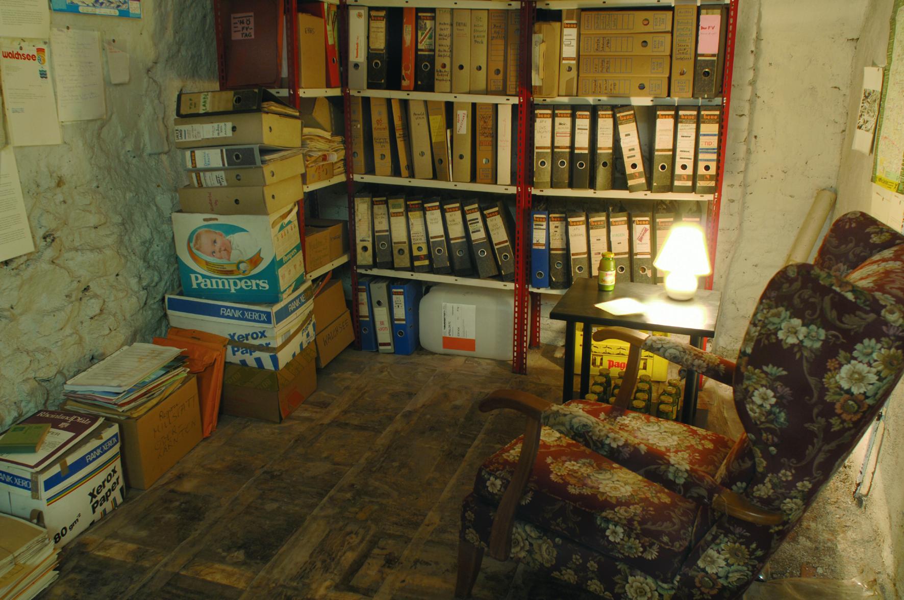 Das verlassene Archiv des Dr. Swobod