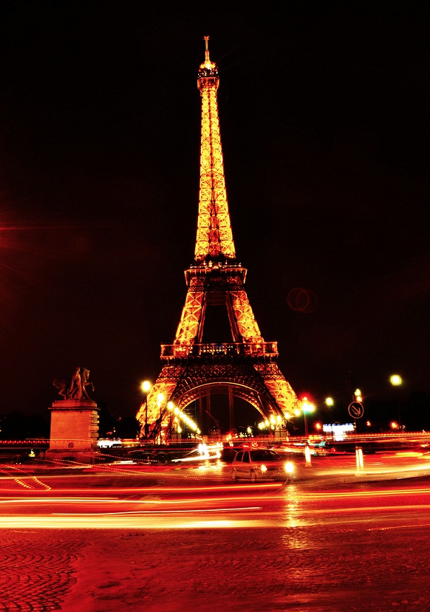 Eiffel Tower Night Life