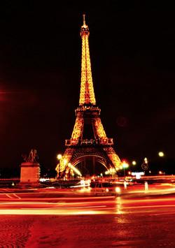 Eiffel Tower Night Life