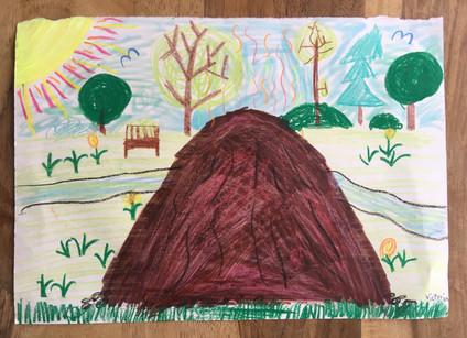 Bild 1 gemalt von Victoria (9 Jahre)