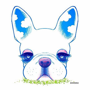 #frenchbulldog #art #digitalart #love #c