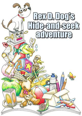 Children's Colouring Book Cover Design, 2017