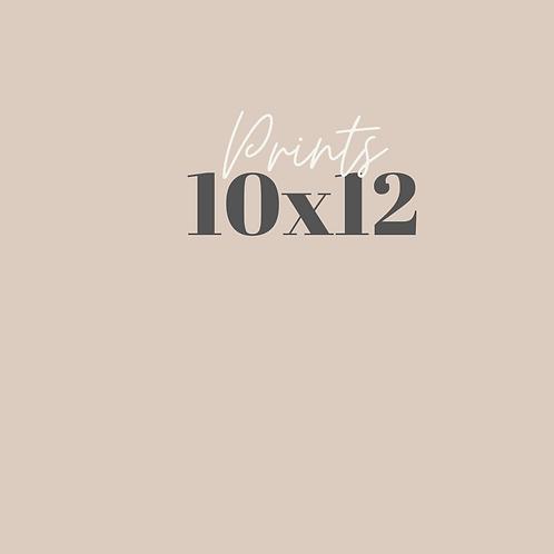 10x12 print