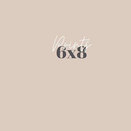 6x8 Prints