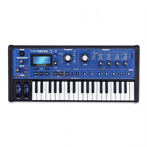 Novation MiniNova Synthesizer with Vocoder
