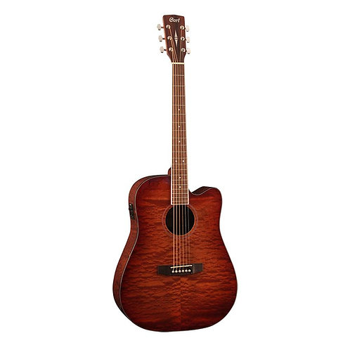 Guitar Acoustic Cort AD890MBCF – Natural Glossy