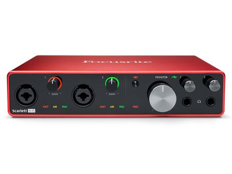 Cài đặt soundcard Focusrite trong Ableton