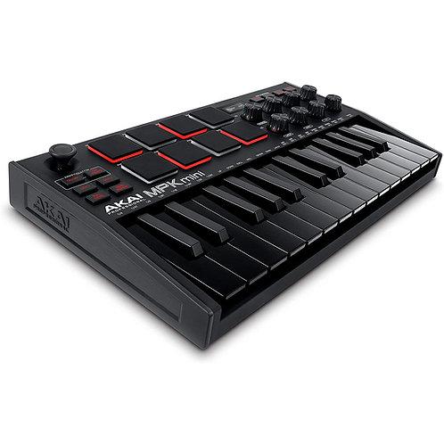 AKAI MPK Mini MK3 (Black) - Midi Controller