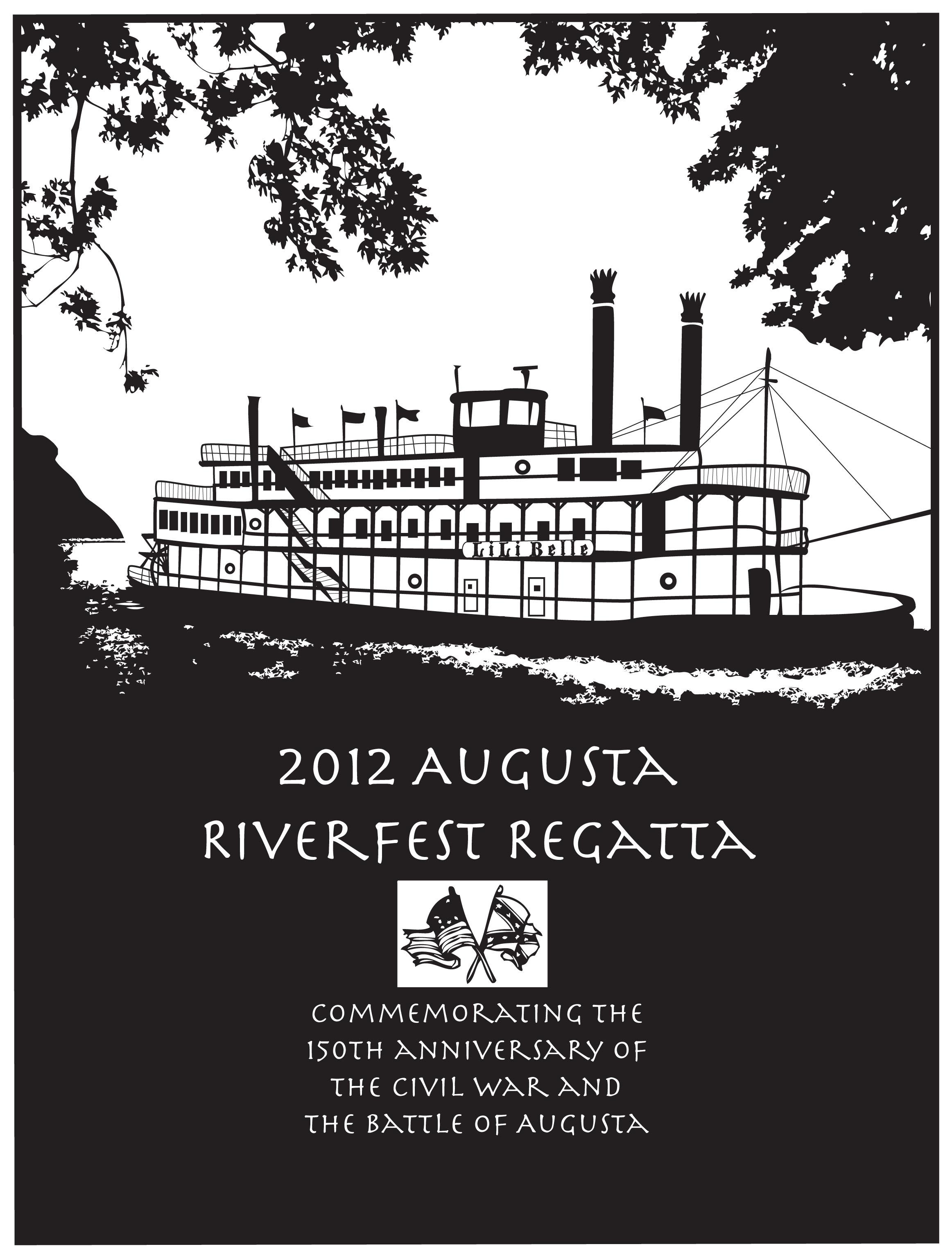 Riverfest Regatta poster