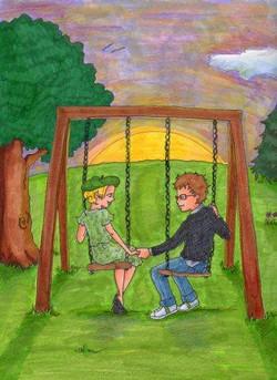 First Love Book Illustration